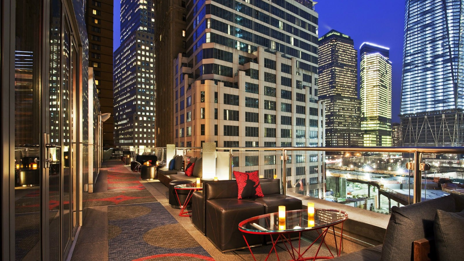 Hotel Review: W NYC Hotel Downtown, Cool Corner Room
