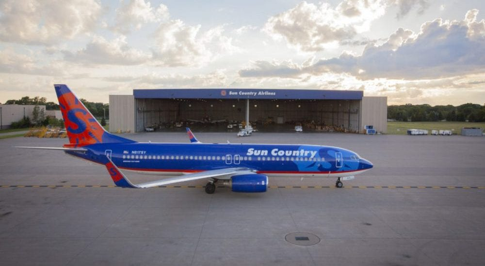 Sun Country Reveals New Livery for its Aircraft
