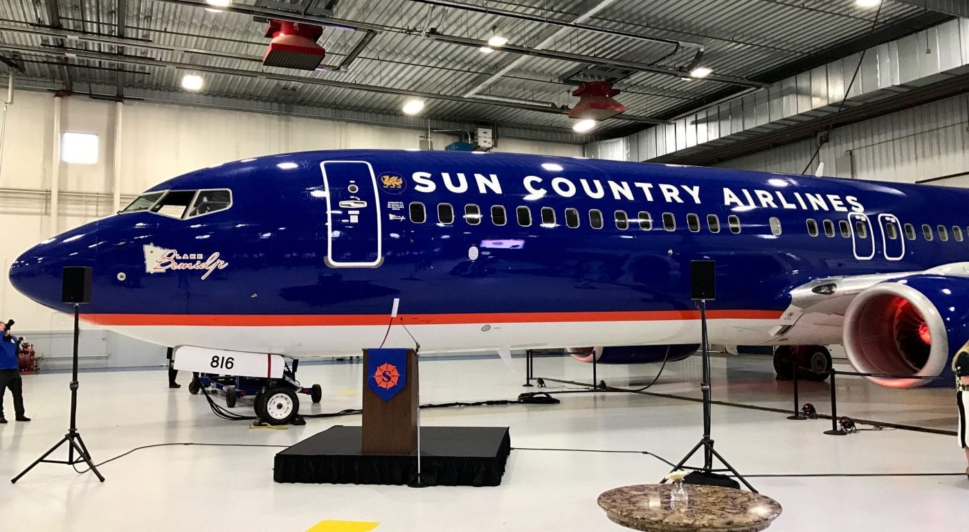 Sun Country Parts Ways with Contractor After Baggage, Staffing Woes