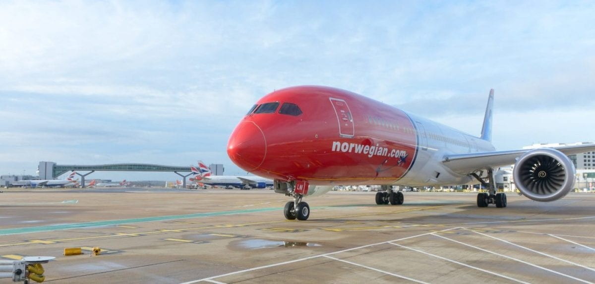 Norwegian Air Drops Long-Haul Flights, Including U.S. to Europe