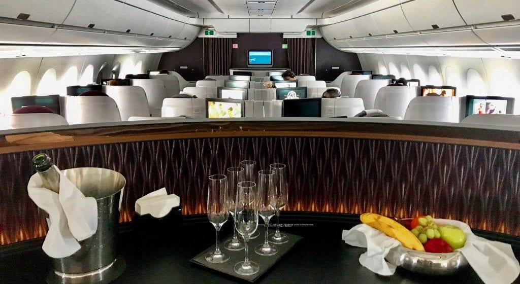 Qatar Airways A350 Business Class e1508903795536