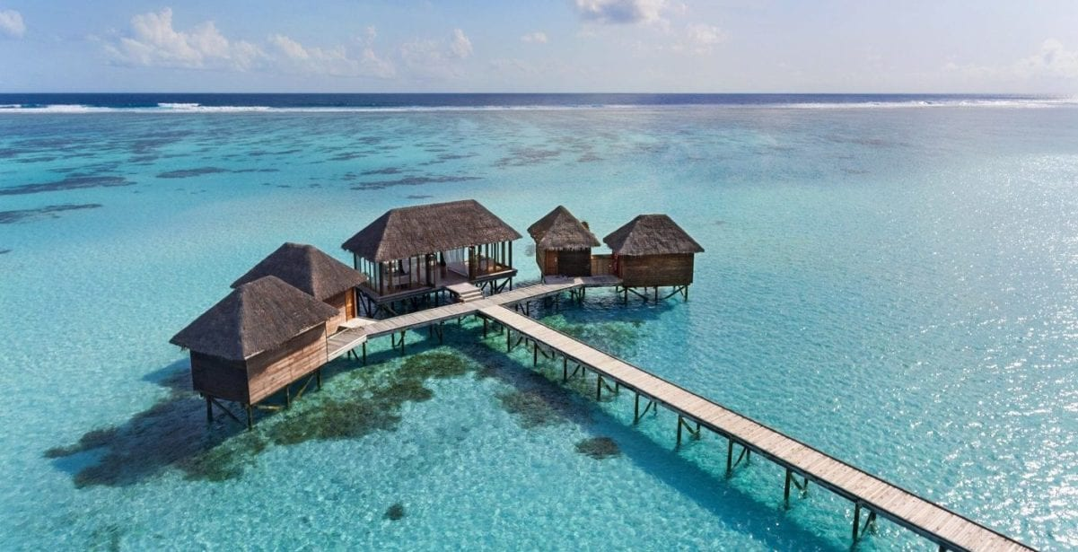 Conrad Maldives Overwater Bungalow from 76k points