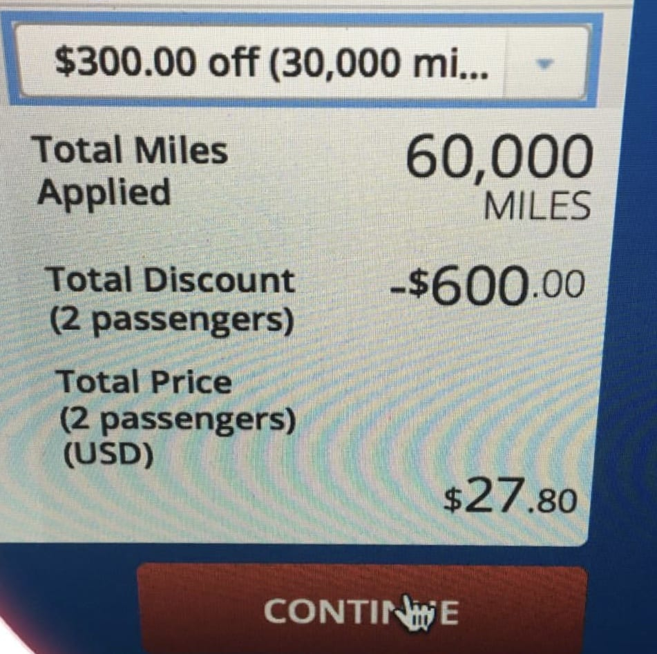 Pay With Miles