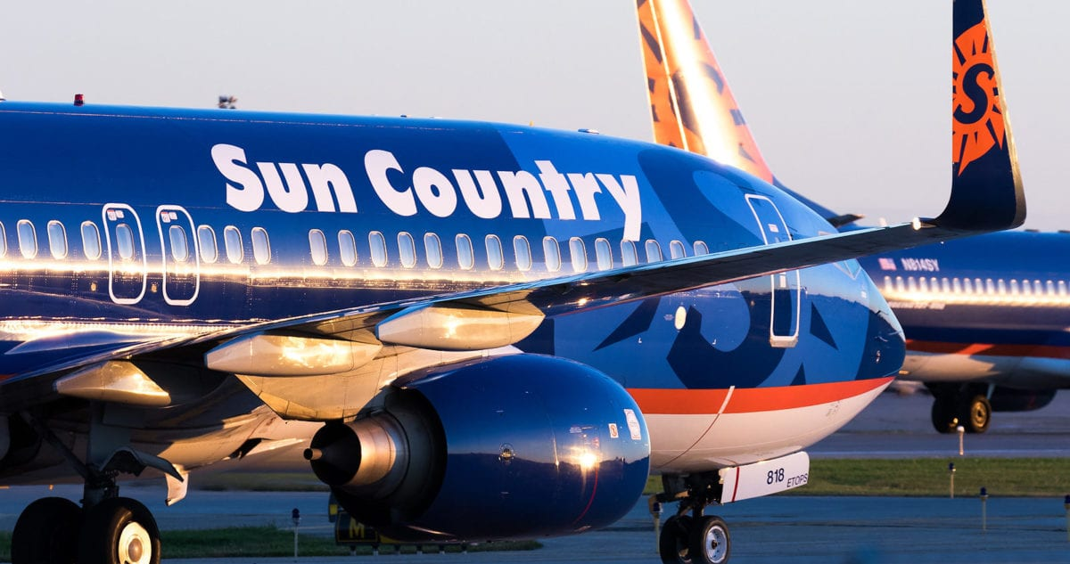 Sun Country Forgets to Load Luggage for Las Vegas Bound Flight