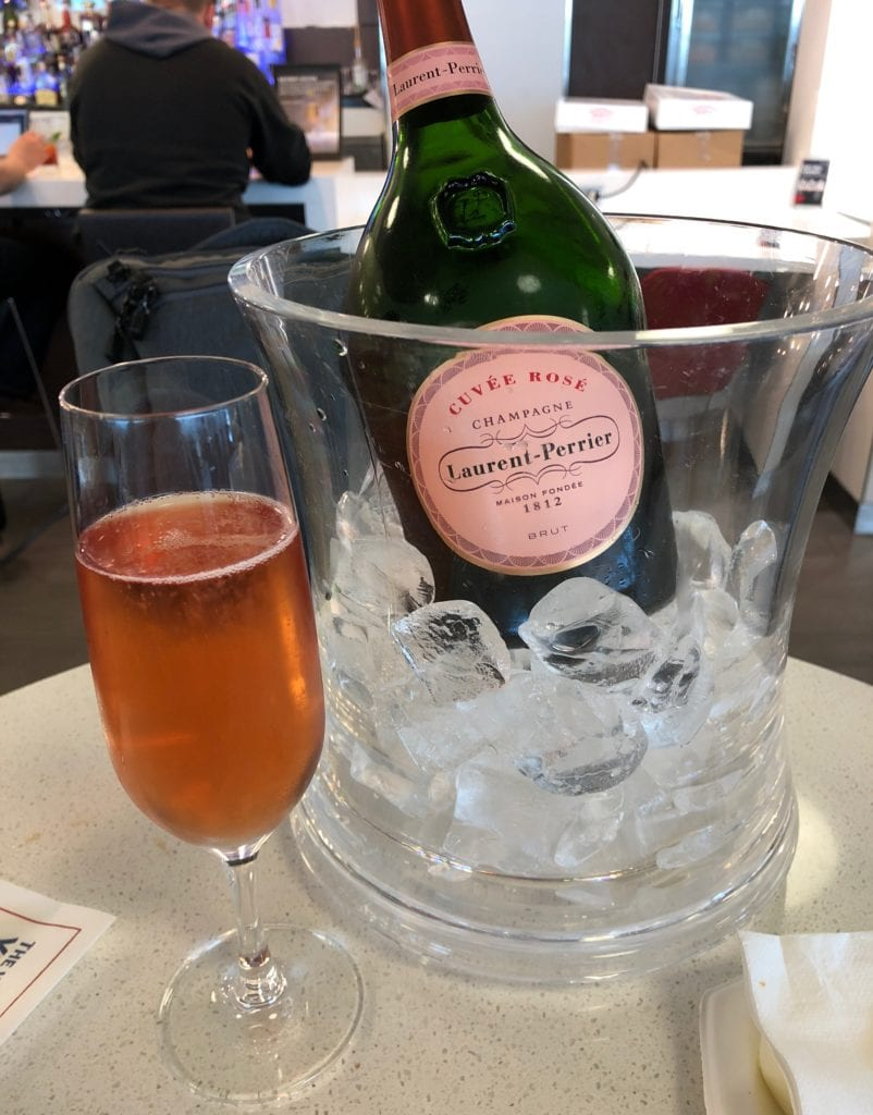 Best Delta SkyMiles Redemptions champagne