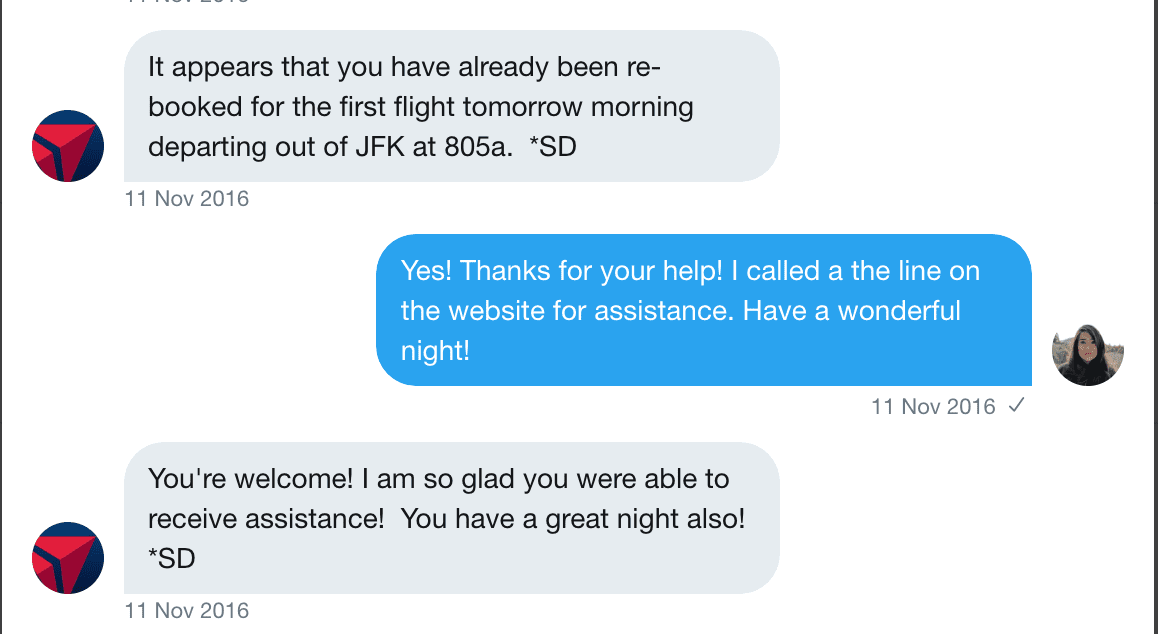 Using Social Media to Connect with the Airlines