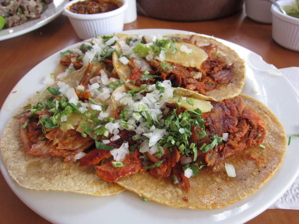 Dining in Mexico City