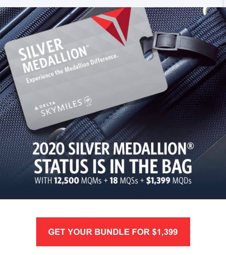 delta medallion status upgrade