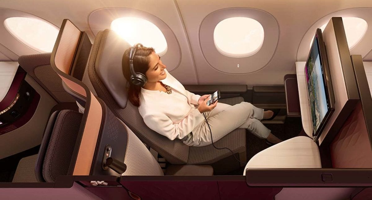 Boston will Get Qatar's Unbeatable Qsuites Business Class this Spring