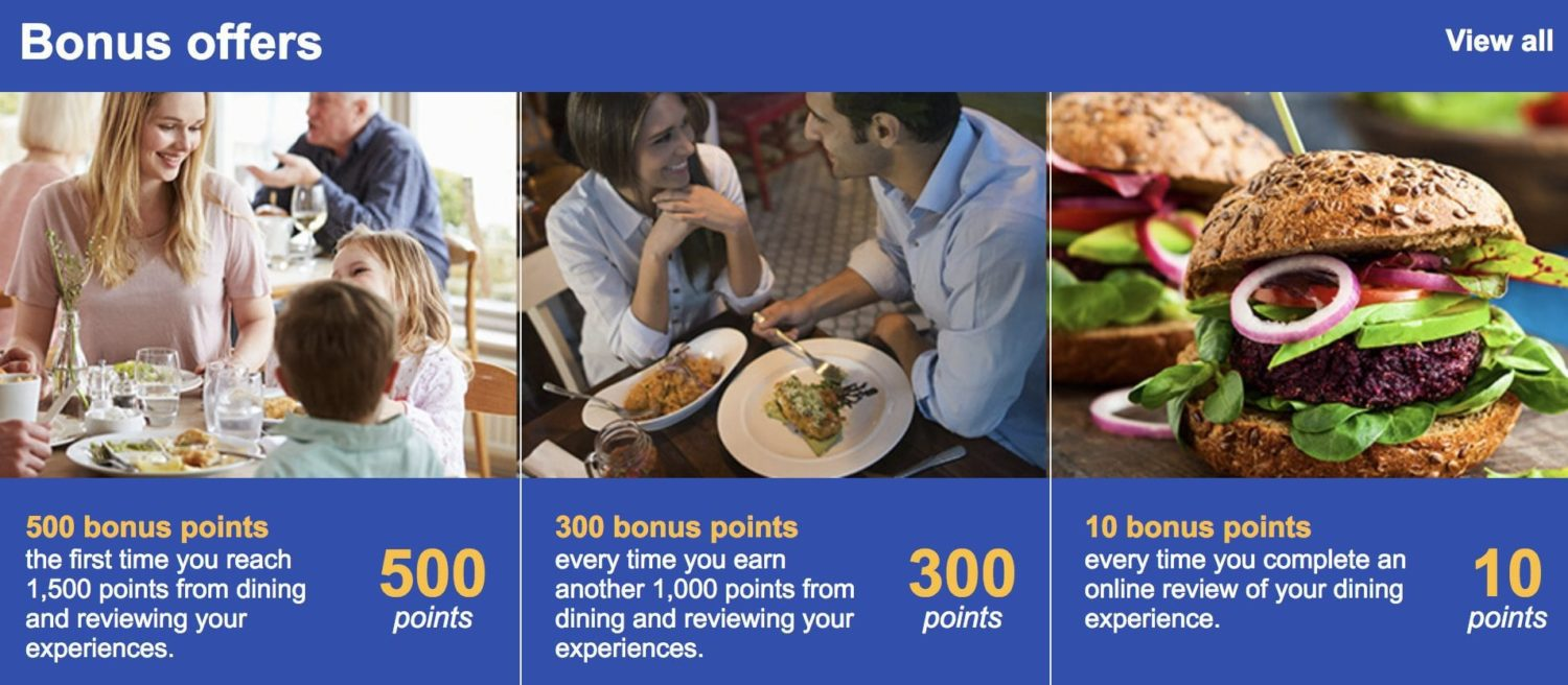 Airline Dining Programs
