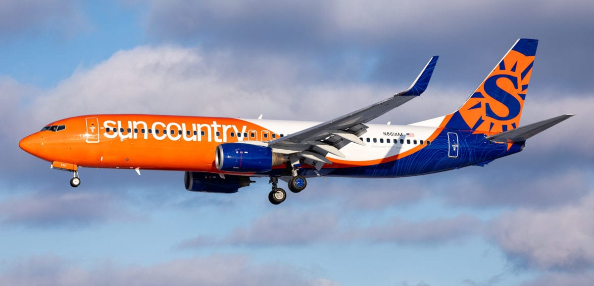 Sun Country Expands in the Midwest, Adds 6 New Minneapolis Routes