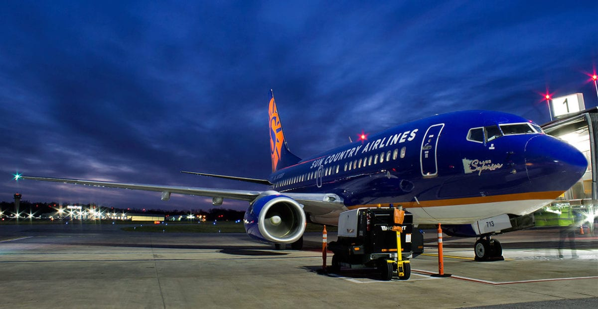 Sun Country Launches 19 New Routes, Focusing on Minneapolis-St. Paul