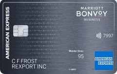 Marriott bonvoy business card