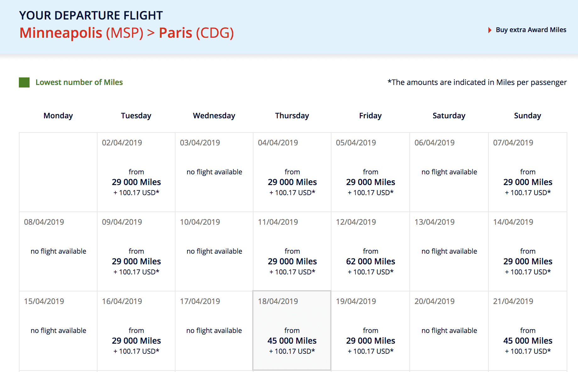 air france klm award search