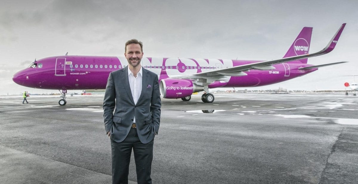 Fresh from Collapse, WOW Air CEO Eyes Revival