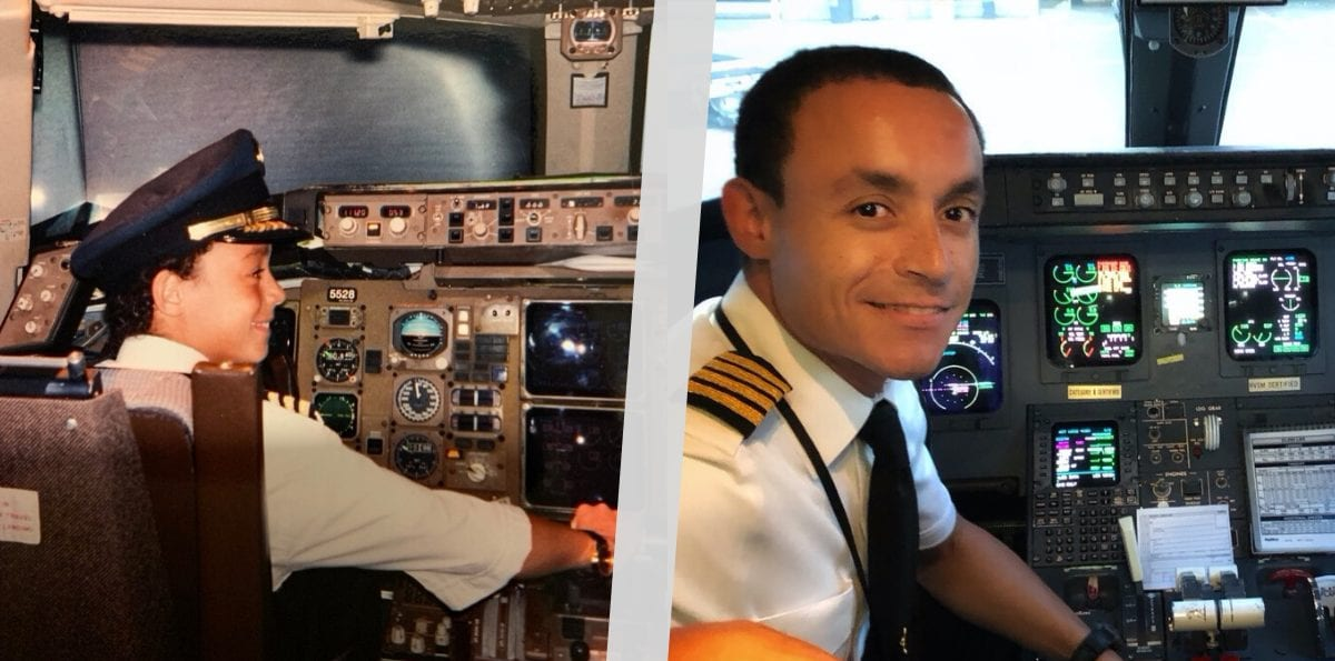 A Sick Boy's Wish: Be a Pilot for a Day. 20 Years Later, He's an Airline Captain