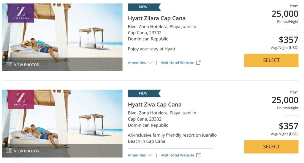 Hyatt Punta Cana Book with Points