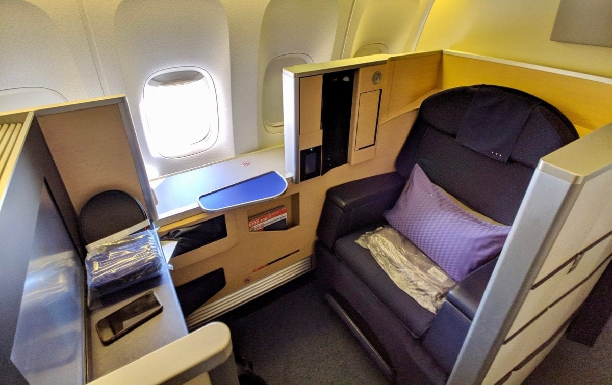 Flight Review: ANA First Class from Chicago O'Hare to Tokyo Haneda