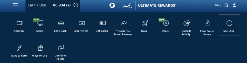 transfer points between chase cards