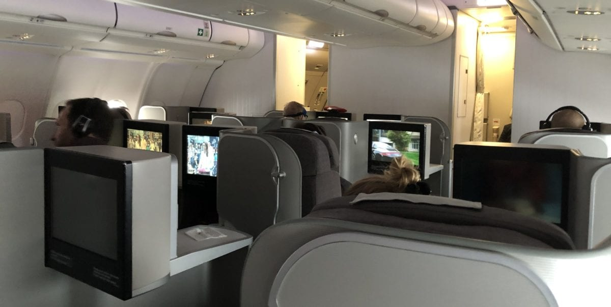 Review: Iberia Business Class Airbus A330 Chicago to Madrid