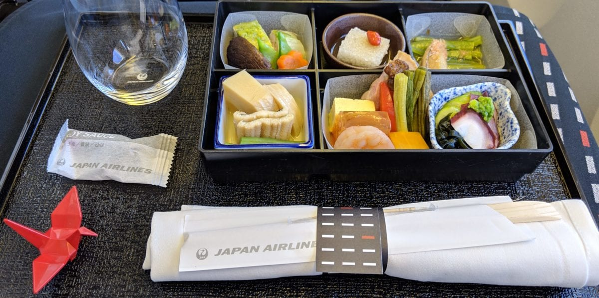 I Just Had One of the Best Meals of My Life … On an Airplane