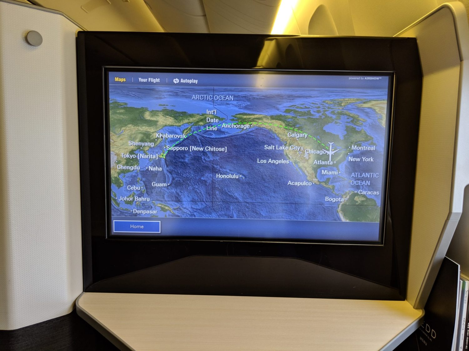 Japan Airlines Business Class Review