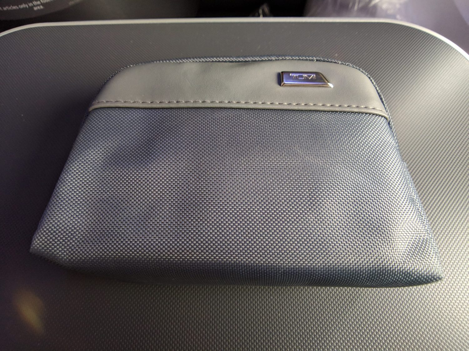 Delta One suites amenity kit