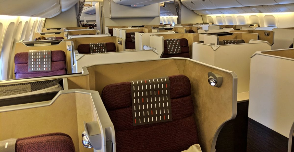 Flight Review: Japan Airlines Business Class 777 Chicago to Tokyo-Narita