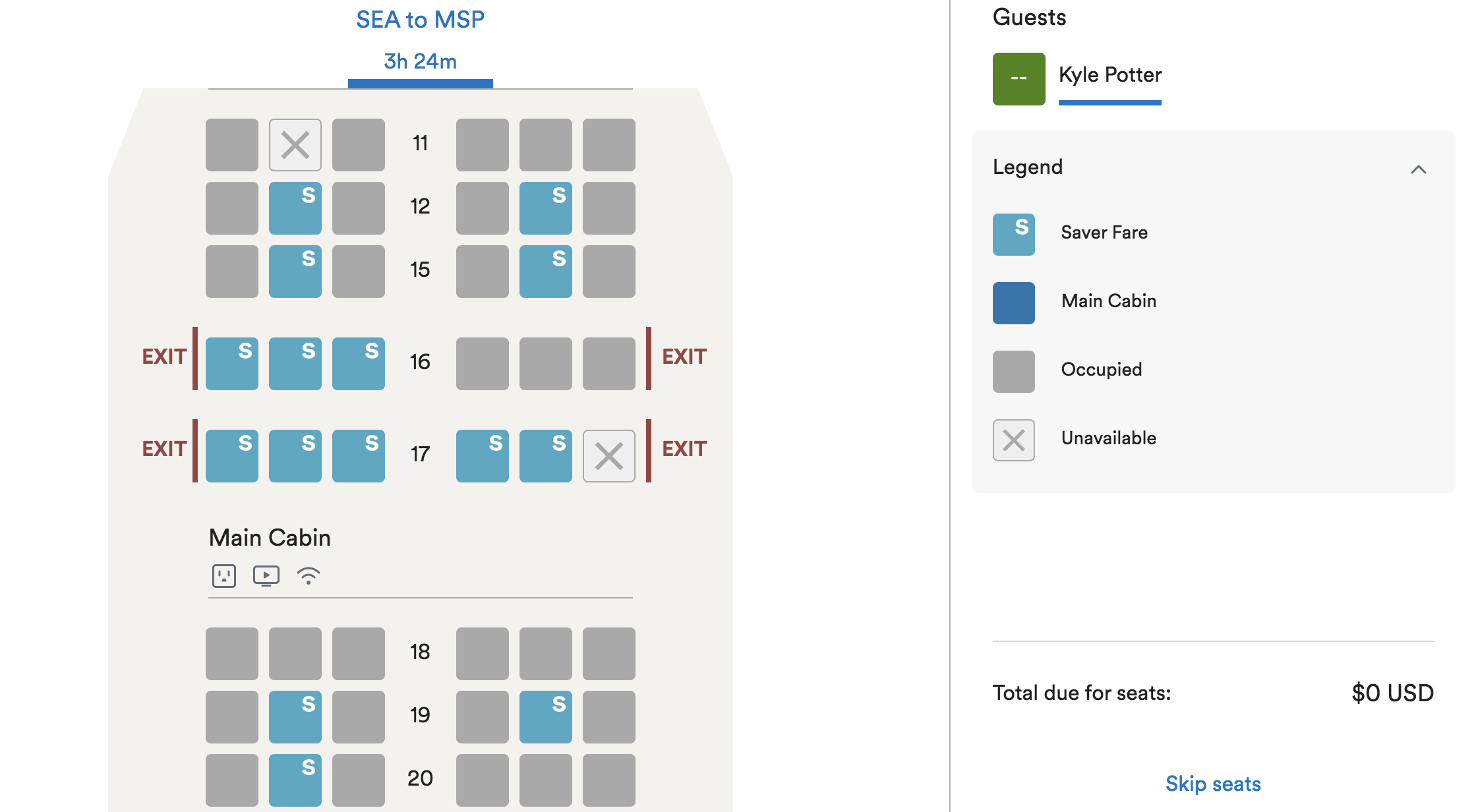 alaska airlines basic economy close in seat