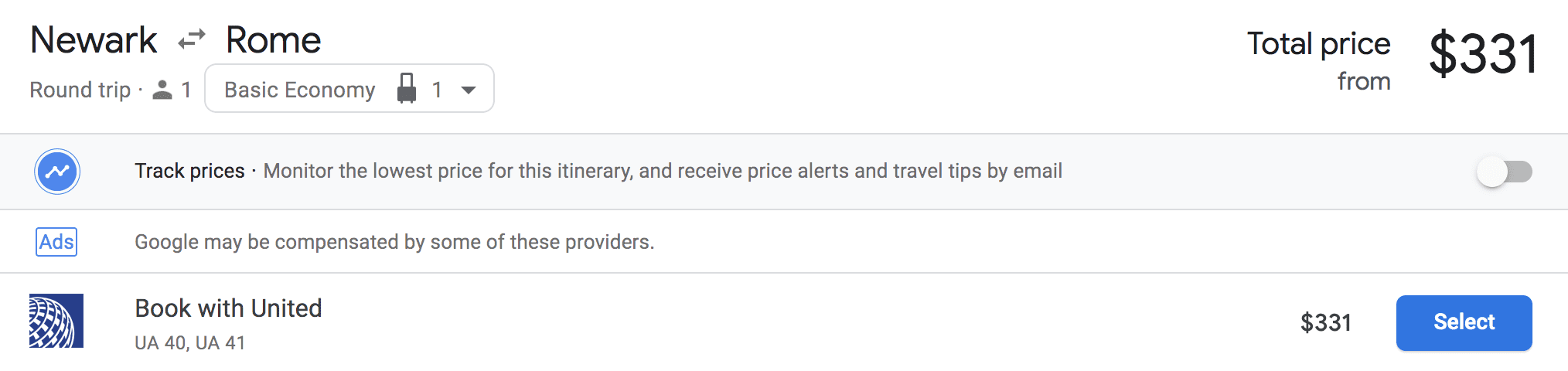 Chase Ultimate Rewards Pricing