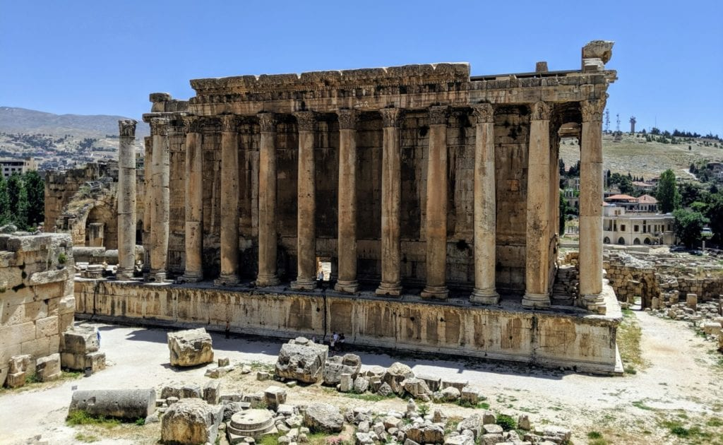 Temple of Bacchus Baalbek