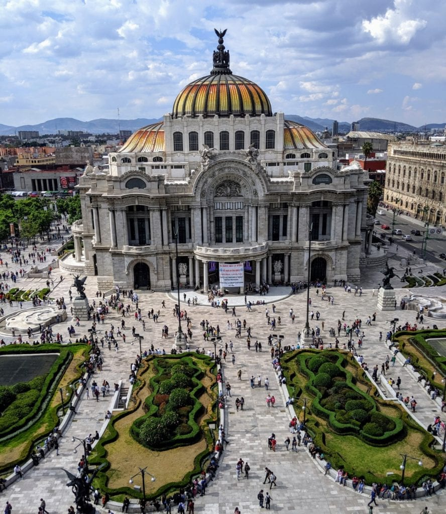 palacio de bellas artes travel mexico city