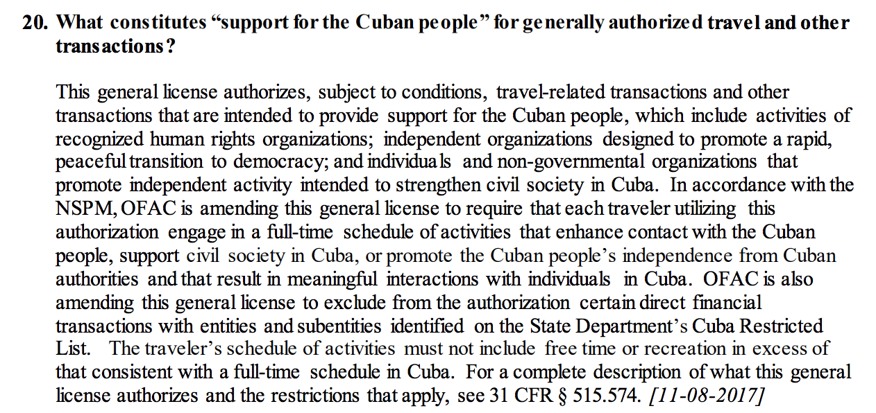 travel to cuba from us