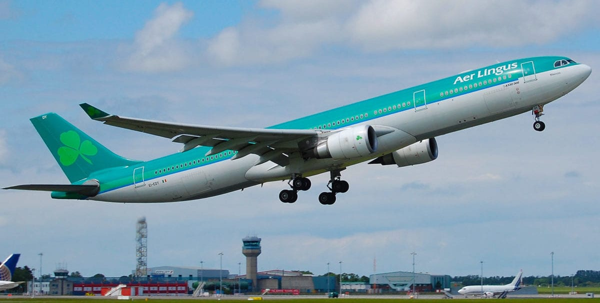 New Aer Lingus Flight from Minneapolis to Dublin Takes Off Today!