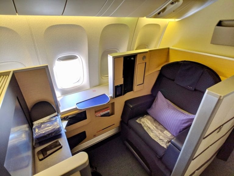 Booking ANA first class with aeroplan
