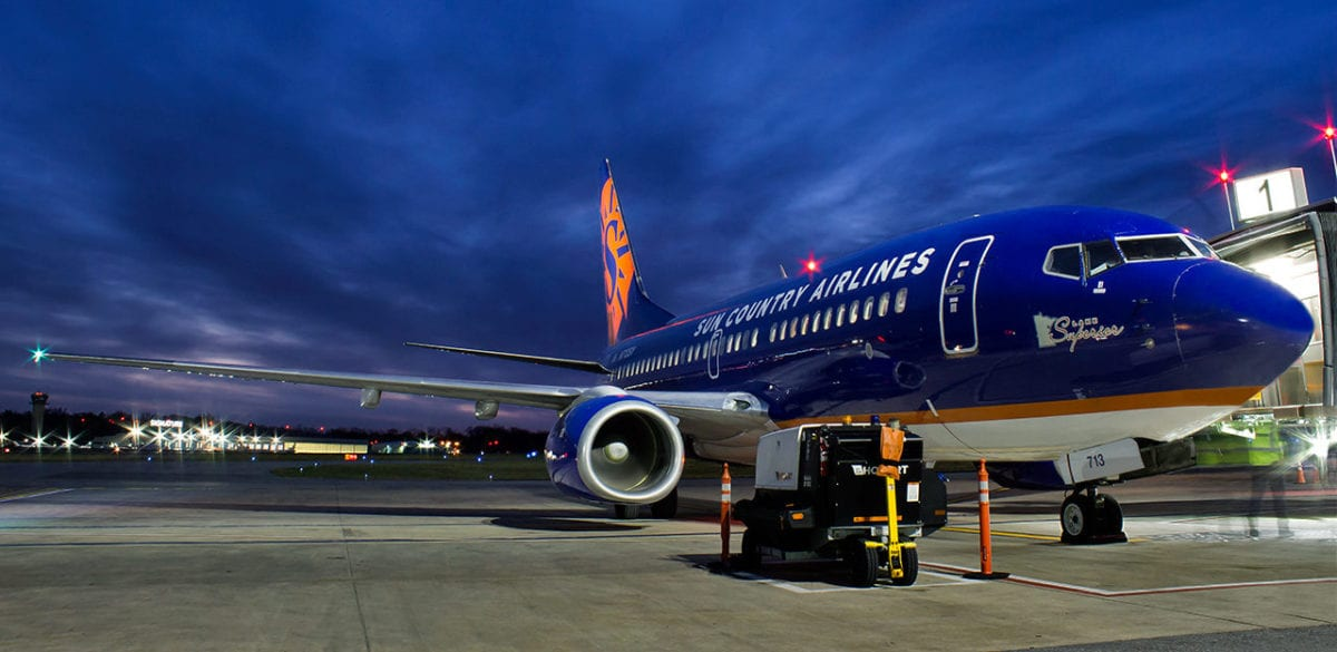 Minnesota's Sun Country Airlines May Go Public with IPO