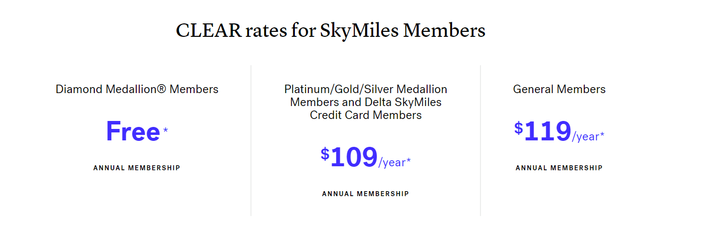 clear free trial skymiles pricing