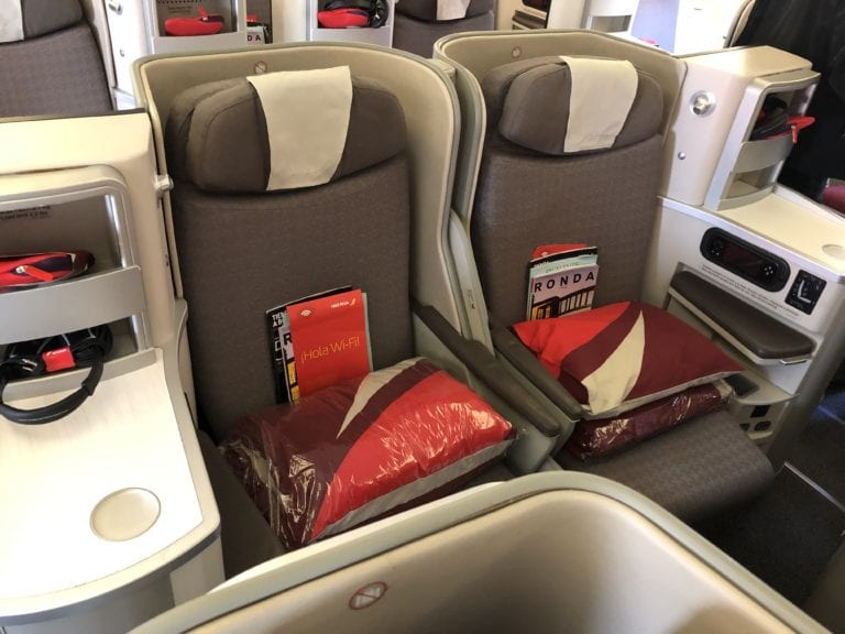 iberia business class availability