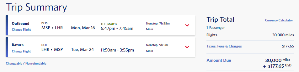 delta skymiles deal europe