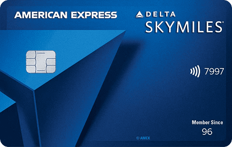 Blue Delta SkyMiles Card