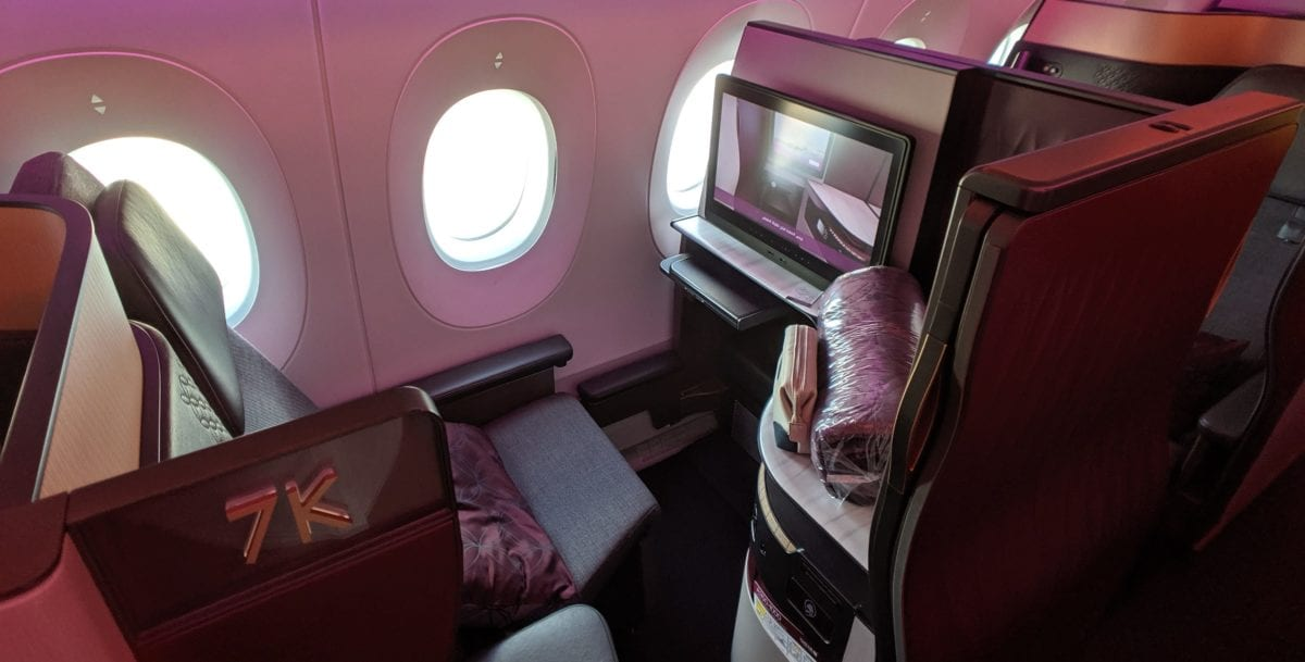 Best in the World: Qatar Qsuite Business Class on the A350-1000