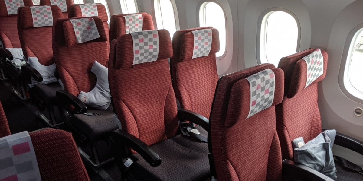 japan airlines economy
