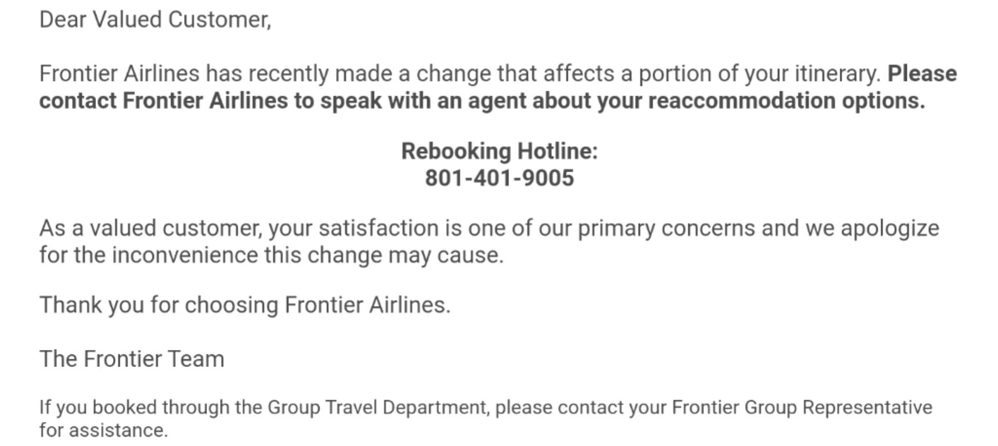 frontier email