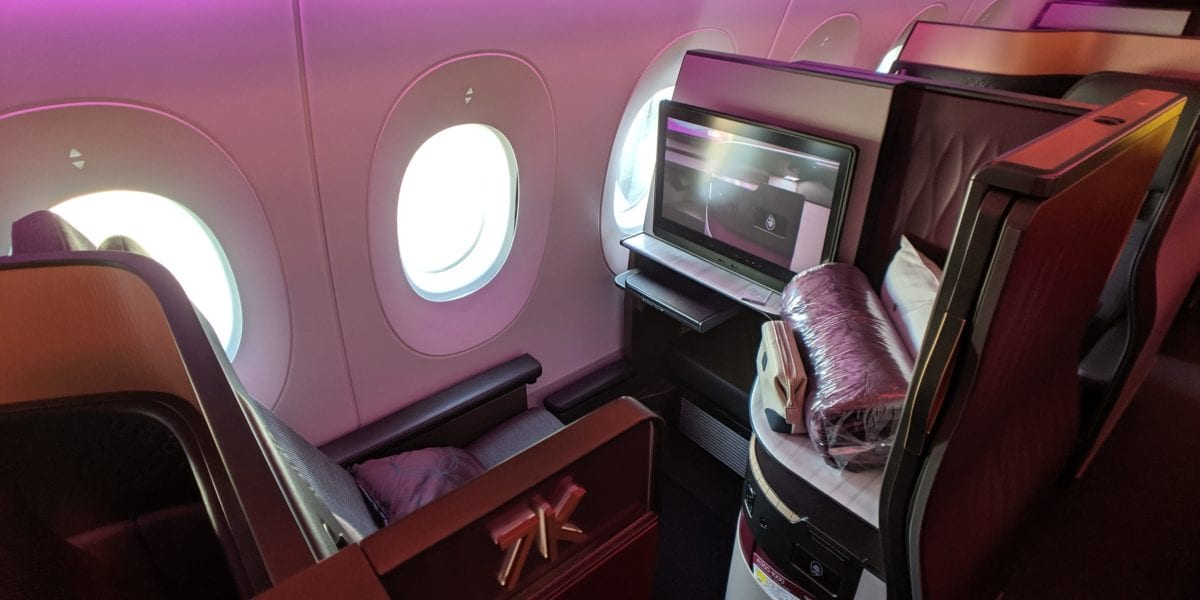 Flight Review: Qatar Airways QSuite A350-1000 Dallas-Fort Worth to Doha