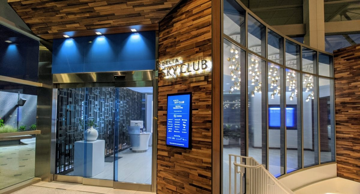 Lounge Review: The New Delta Sky Club Austin (AUS)