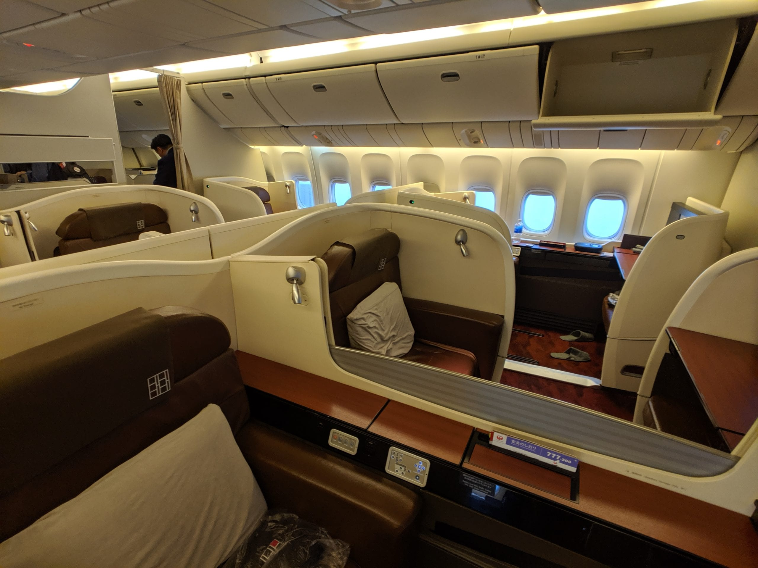 japan airlines first class review
