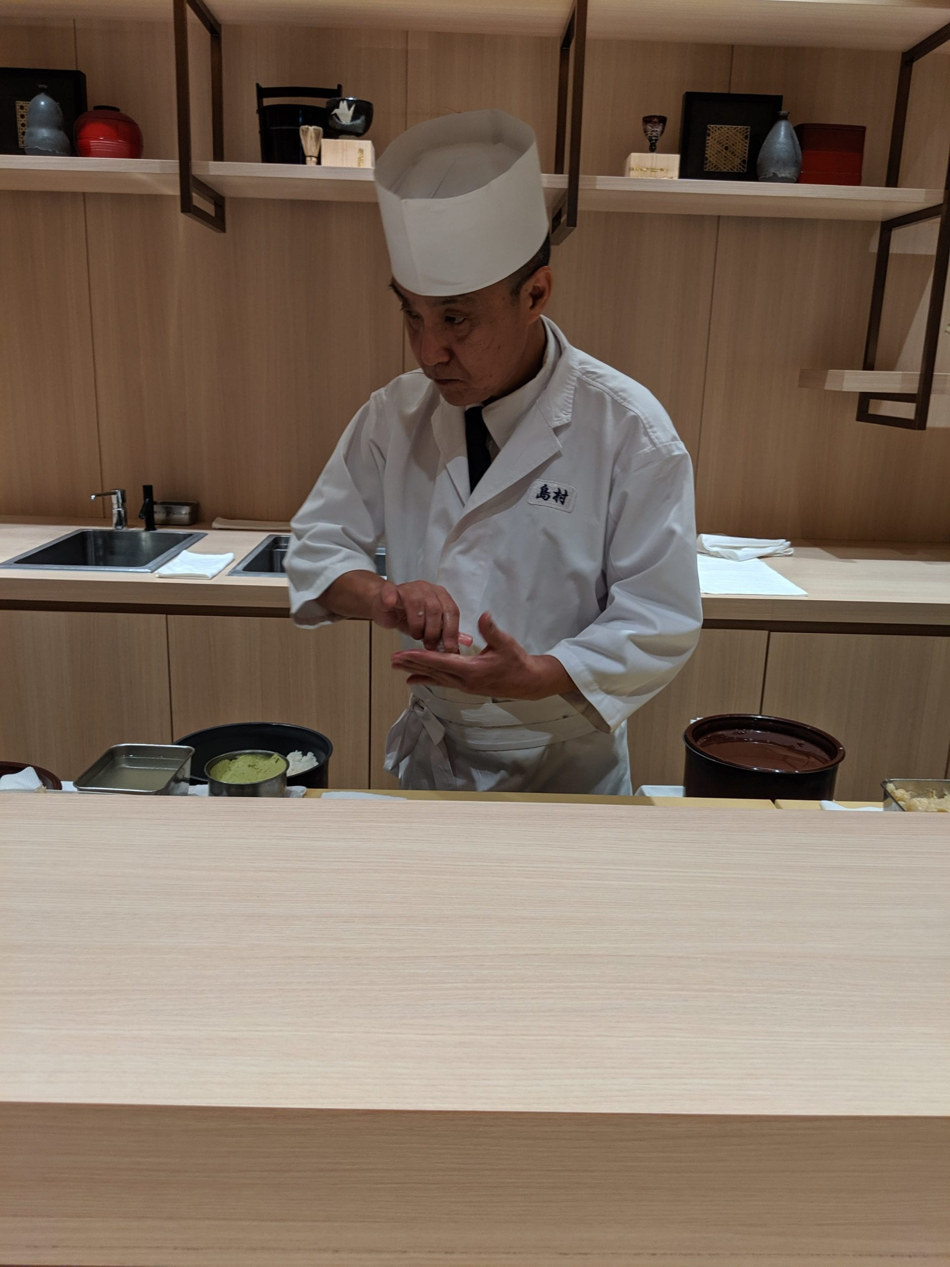 japan airlines sushi