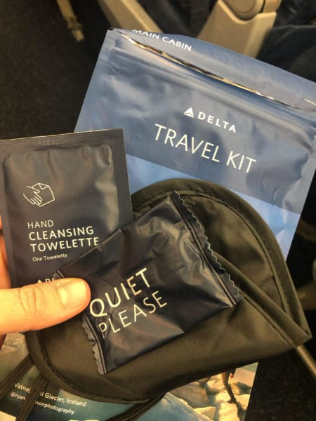 delta food amenity kit