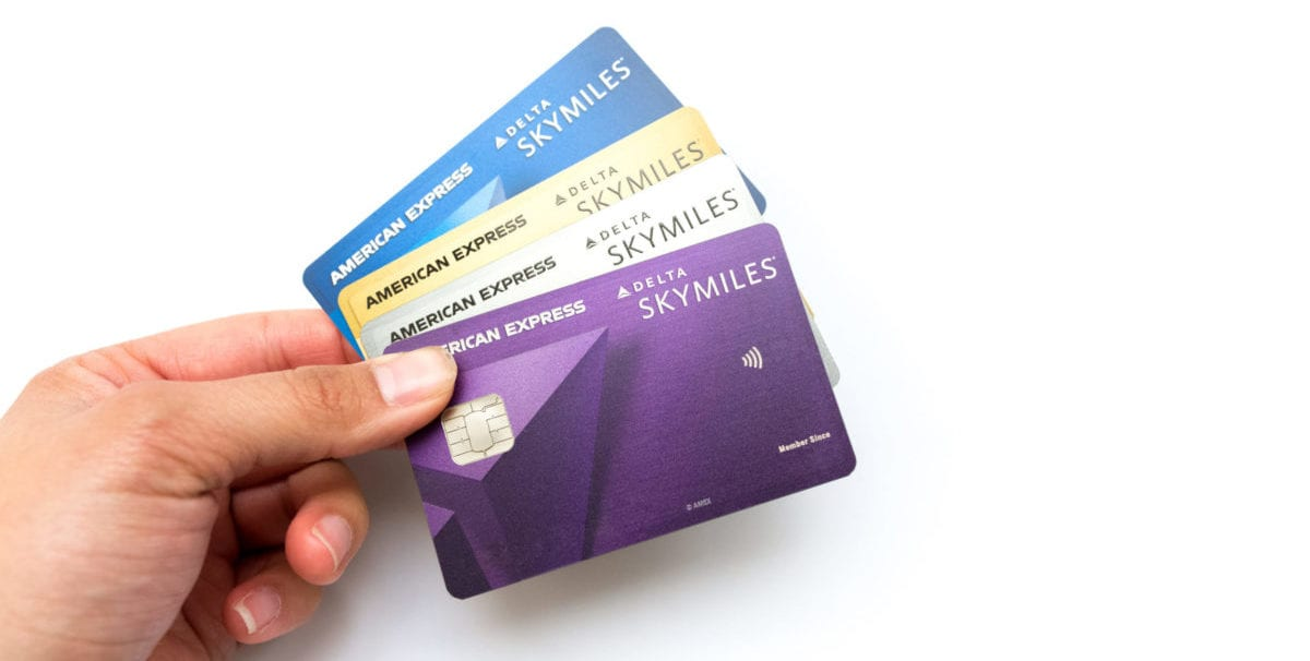Earn Up to 40K SkyMiles with Current Delta Credit Card Offers