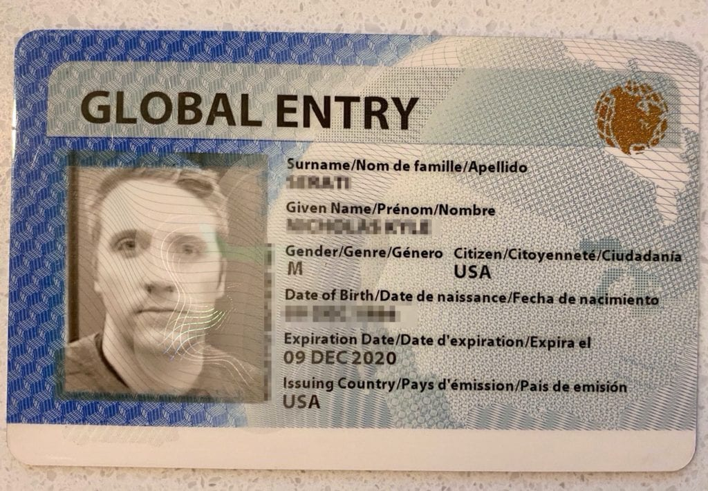 global entry renewal